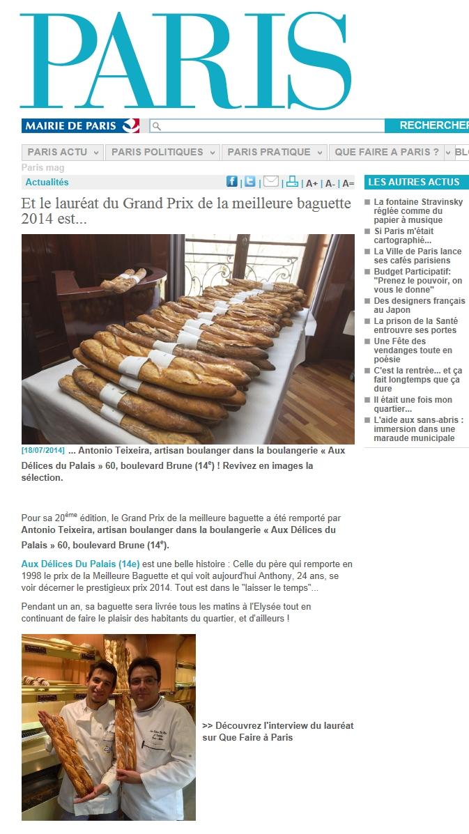 Grand Prix de la meilleure baguette 2014 Article 01.jpg