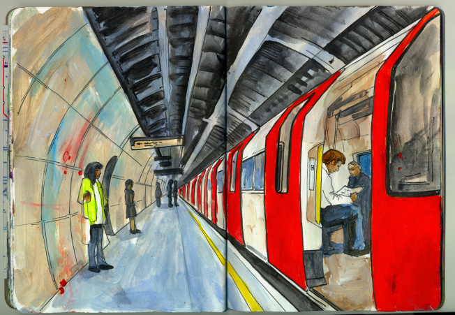 Northern Line Northbound – London Bridge.png