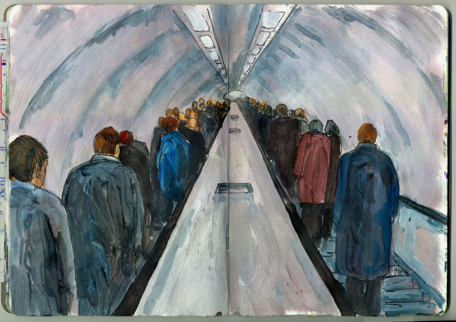 The Up Escalator – Bank Station.png